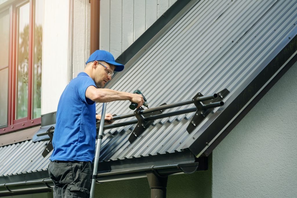Lawrence metal roofing